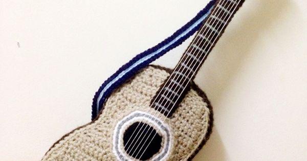 Amigurumi guitar. (Inspiration). Amigurumis Pinterest ...