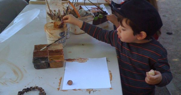 Aboriginal Perspective Painting With Mud Crafts For