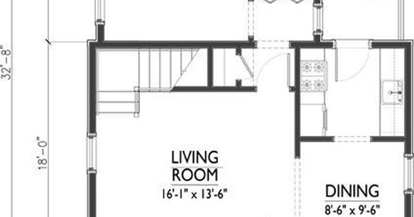 Small cabin plans with loft under 1000 square feet yahoo for 1000 square foot house plans with loft