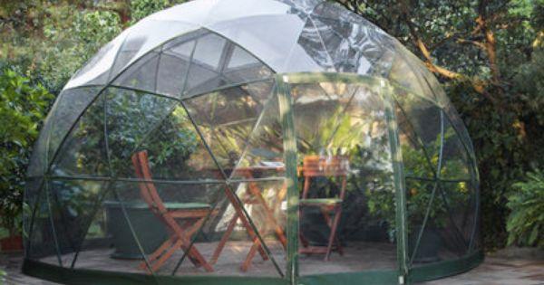 serre g od sique abri de jardin v randa d montable couverture de jacuzzi tonnelle garden. Black Bedroom Furniture Sets. Home Design Ideas