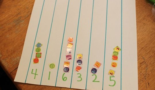 hands on number activity