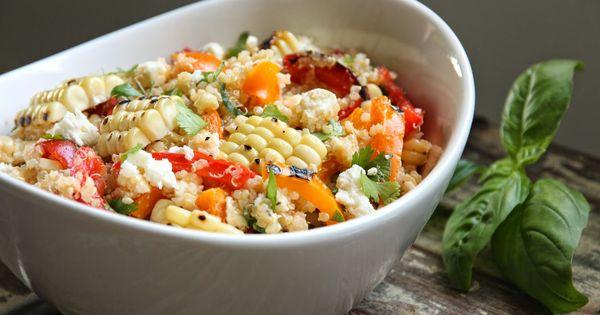Grilled vegetable salads, Vegetable salad and Grilled vegetables on ...