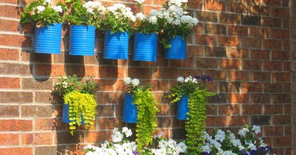 C mo decorar mi jard n con cosas recicladas house - Como decorar mi jardin ...