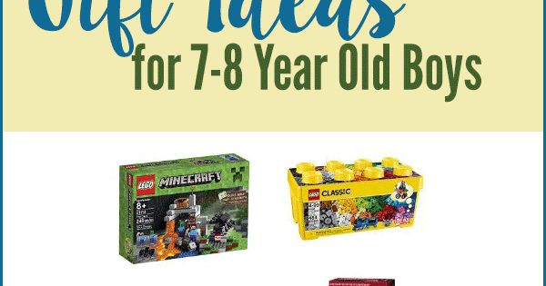 Need Gift Ideas For 7-8 Year Old Boys? Look No Further