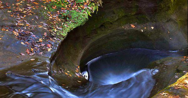 Man Cave Barber Oran Park : Devil s bathtub old man cave in ohio american my