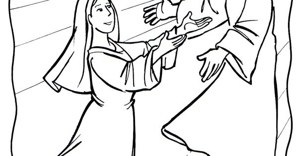 assumption of mary coloring pages - photo#36