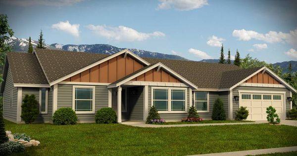 Adair Homes Plan 1952 1 Story 3 Bedroom 2 Bathroom