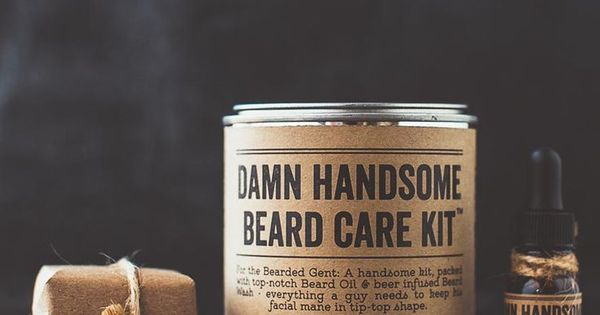 complete beard care kit with a great beard comes great responsibility luc. Black Bedroom Furniture Sets. Home Design Ideas