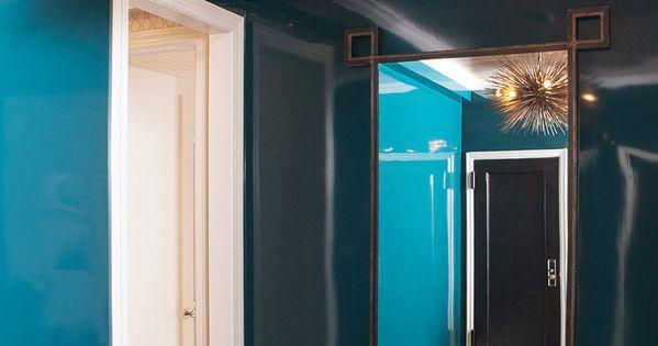 Décoration intérieure Couloir hall entrée Couleur