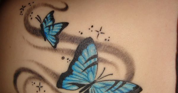 Butterfly Tattoo | Old School Tattoos