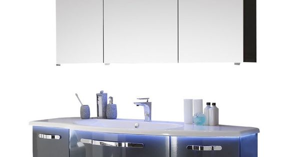 Pelipal Solitaire 7005 Badmobel Set Solitaire7005 Set 3 1 Unterschrank Glaswaschtisch Spiegelschrank