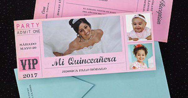 Unique Quinceanera Invitations designer quincenera invitations – 15th Birthday Invitation