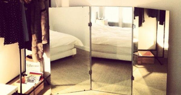 Grand miroir triptyque vintage  M a r g o t d u B 7  Pinterest