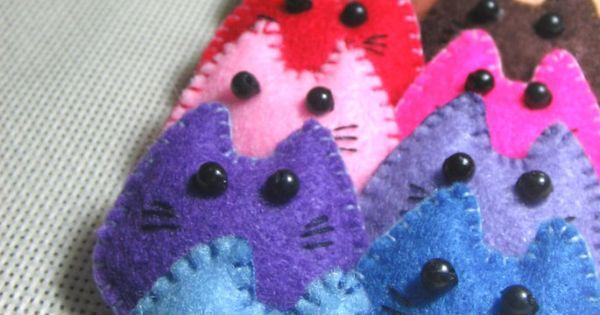 Christmas Felt Crafts | Felt Crafts | best stuff. **For a cat