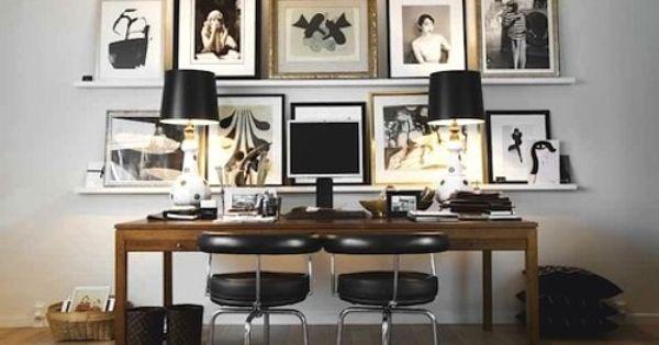 Oficina ideas para decoraci n de oficinas y despachos - Cuadros para despachos ...