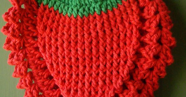 Ravelry Strawberry Potholder Pattern By Kay Meadors