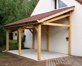 Garage Bois Anjou 1 Pente 2 70 M X 7 M Gamme Cerisier Abri De Jardin