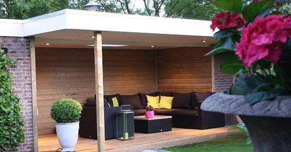 Overdekt terras overkappingen van der vecht huisstyle overkappingen veranda 39 s for Buiten patio model