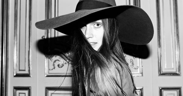 Saint Laurent Behind the Scenes shot by Hedi ..........love big hats