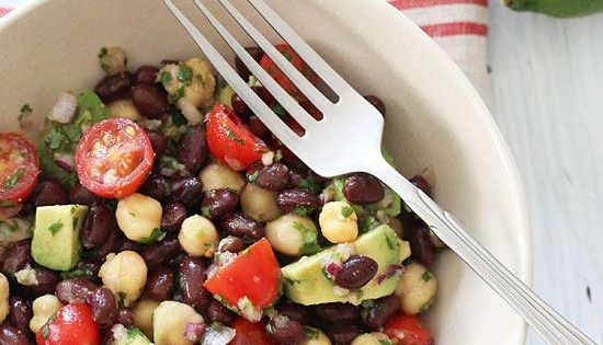 Black-Eyed Pea Salad With Peppers, Cilantro, And Cumin-Lime ...