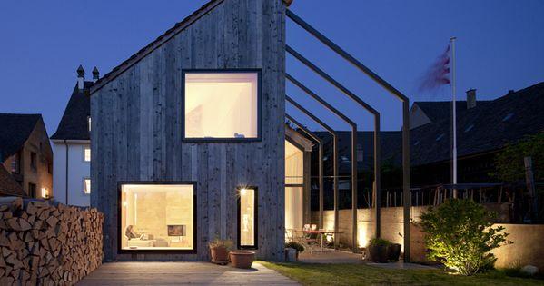 Kirchplatz Office + Residence / Oppenheim Architecture + installation architecture architecture ideas
