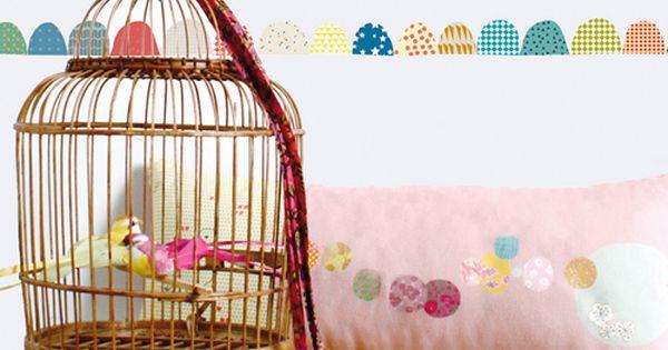 Frise murale autocollante galets mimi lou d co chambre - Frise autocollante chambre bebe ...