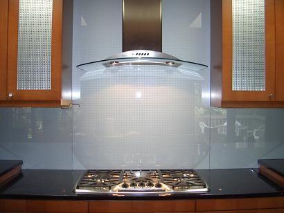 large glass tiles for backsplash | stainless steel backsplash vs