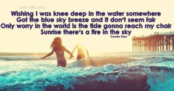 Knee Deep - Zac Brown Band :)