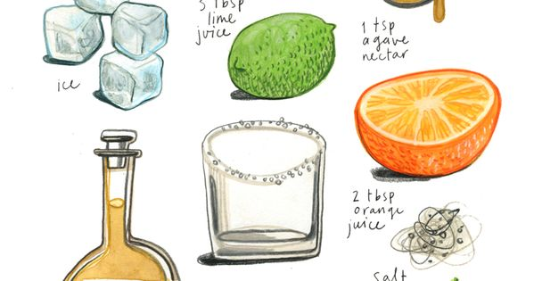 felicita sala illustration: margarita recipe