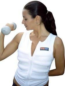 Body Cooling Vest White With Images Cooling Vest Ice Vest