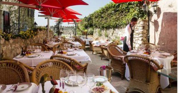 For Lunch Hotel Le Saint Paul In St Paul De Vence France