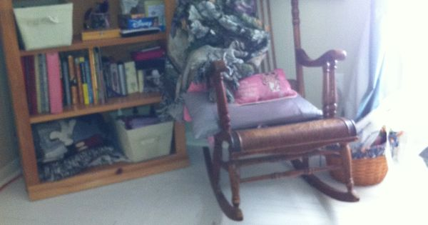 ... little girl.  Bedrooms  Pinterest  Rocking Chairs, Little Girls and