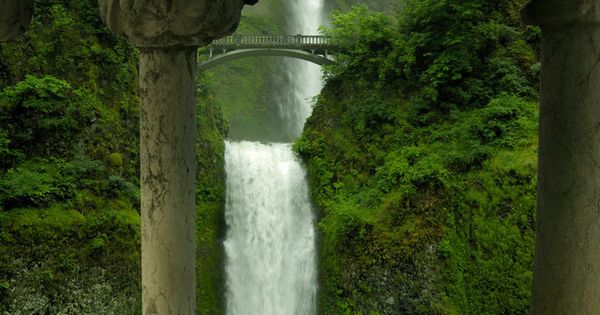 Multnomah Falls, Oregon ※Photoshop