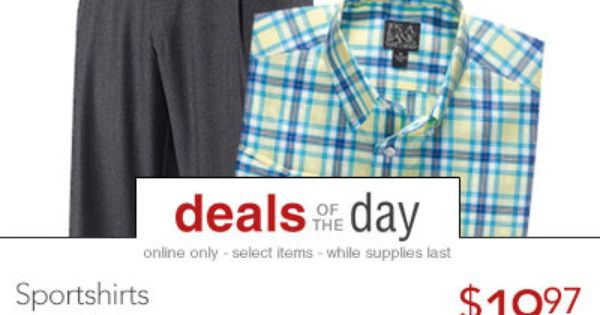 Jos A Bank Coupons Jos A Bank Coupons Jos A Bank Deal Of The Day Daily Online Only Exclusive Deep Discounted Deals Up To 75 Off Or More Jos Pants Fashion
