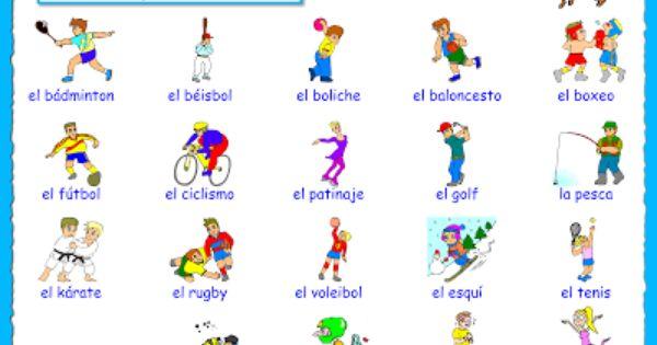Iv 2 Me Encanta Escribir En Espanol Las Actividades Deportivas Me Gusta Spanish Lessons Learning Spanish Teaching Spanish