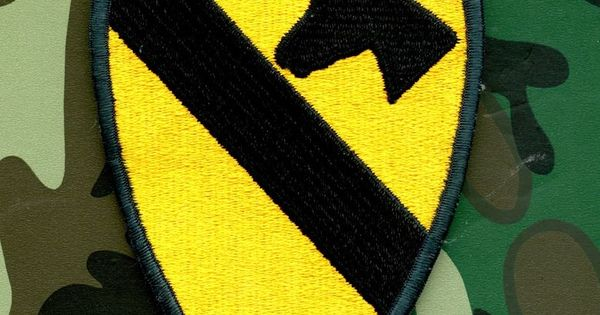 Usa vietnam 1st cavalry ision airborne patch color military insignia patches and badges