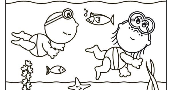 Frokkie En Lola Aan Het Snorkelen Knutselen Peuters