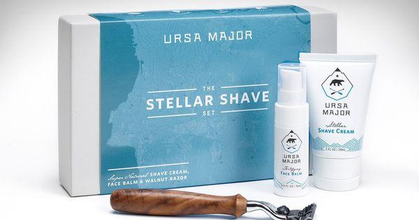 Ursa Major Stellar Shave Set Shaving Set Shaving Shaving Cream