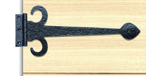 Ludlow Lf5519a Antique Sword Hinges Pair