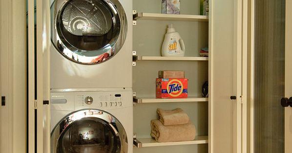 Small Laundry Ideas. The idea of having a closet laundry room is