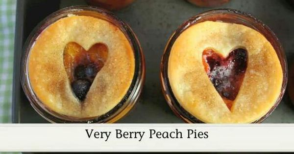 Peach pies, Berries and Peaches on Pinterest