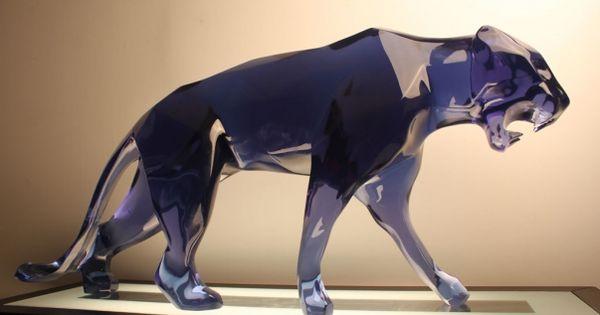 richard orlinski panther animals art pinterest. Black Bedroom Furniture Sets. Home Design Ideas
