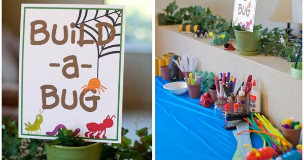 Bug party craft idea