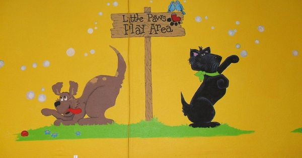 Murals Decorative Painting Doggie Daycare Www