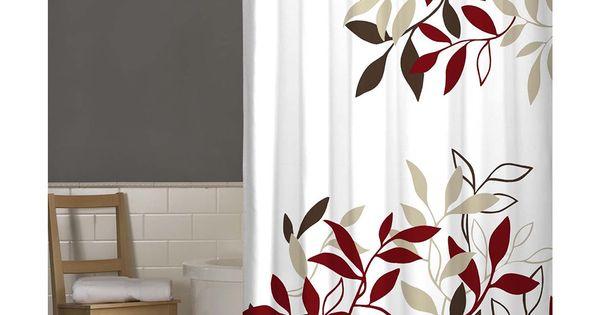 Maytex Satori Fabric Shower Curtain By Maytex