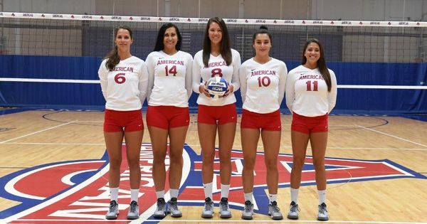 American University Volleyball News American Universities Volleyball