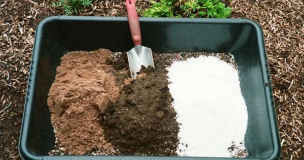 how to make a well draining soil