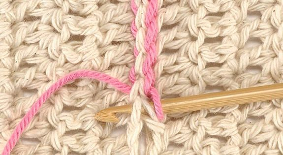 Crochet Stitches Double Crochet 2 Together : shapes together with either the slip stitch seam or the double crochet ...