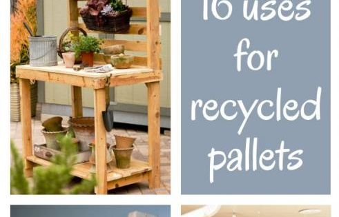 diy home sweet home: 16 uses for recycled pallets... Love the headboard!
