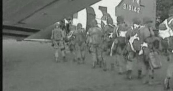 d day video footage